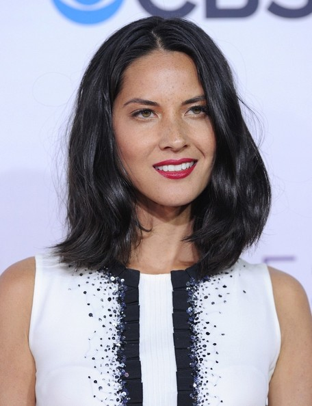 More Pics of Olivia Munn Evening Pumps (3 of 11) - Olivia Munn Lookbook - StyleBistro