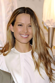 Petra Nemcova wore a lovely shade of nude lipgloss at the Camisa Blanca benefit collection launch. To recreate her look at home, choose medium-coverage gloss two shades darker than your natural lip color.