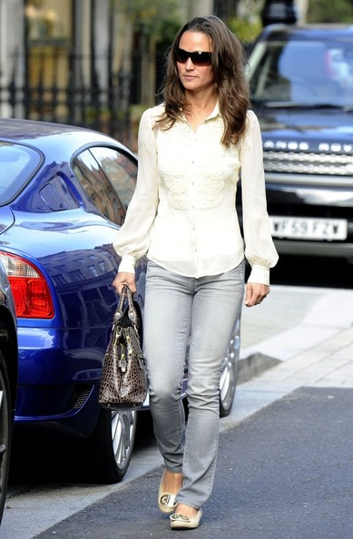 Pippa Middleton Embellished Flats