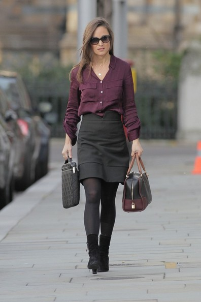 Pippa Middleton Button Down Shirt