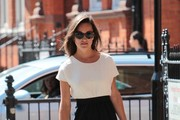 Pippa Middleton Runs Errands in Chic Tan Wedges
