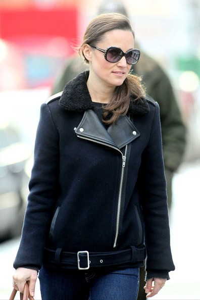 More Pics of Pippa Middleton Wool Coat (1 of 17) - Pippa Middleton Lookbook - StyleBistro