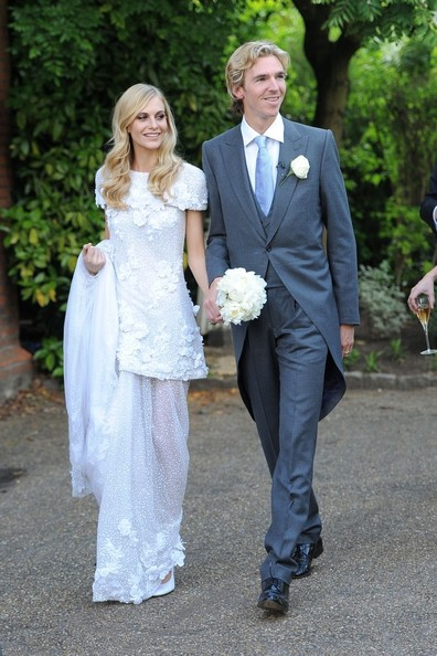 Poppy Delevigne and James Cook's Wedding