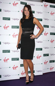 Ana Ivanovic looked effortlessly elegant in her little black dress at the pre-Wimbledon party.