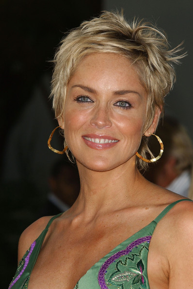 Sharon+Stone in Premiere of