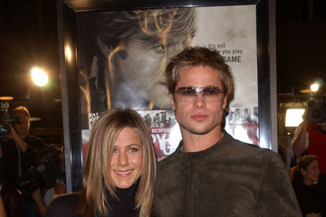 "Jennifer Aniston Brad Pitt Premiere of ""Spy Game"""