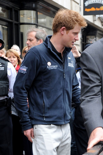 Prince Harry Zip-up Jacket