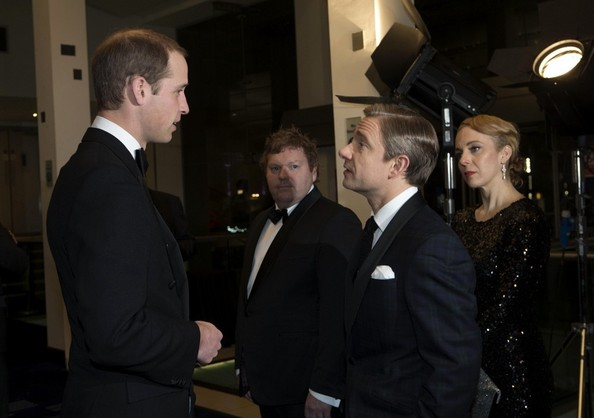 Prince William Royal Film Performance