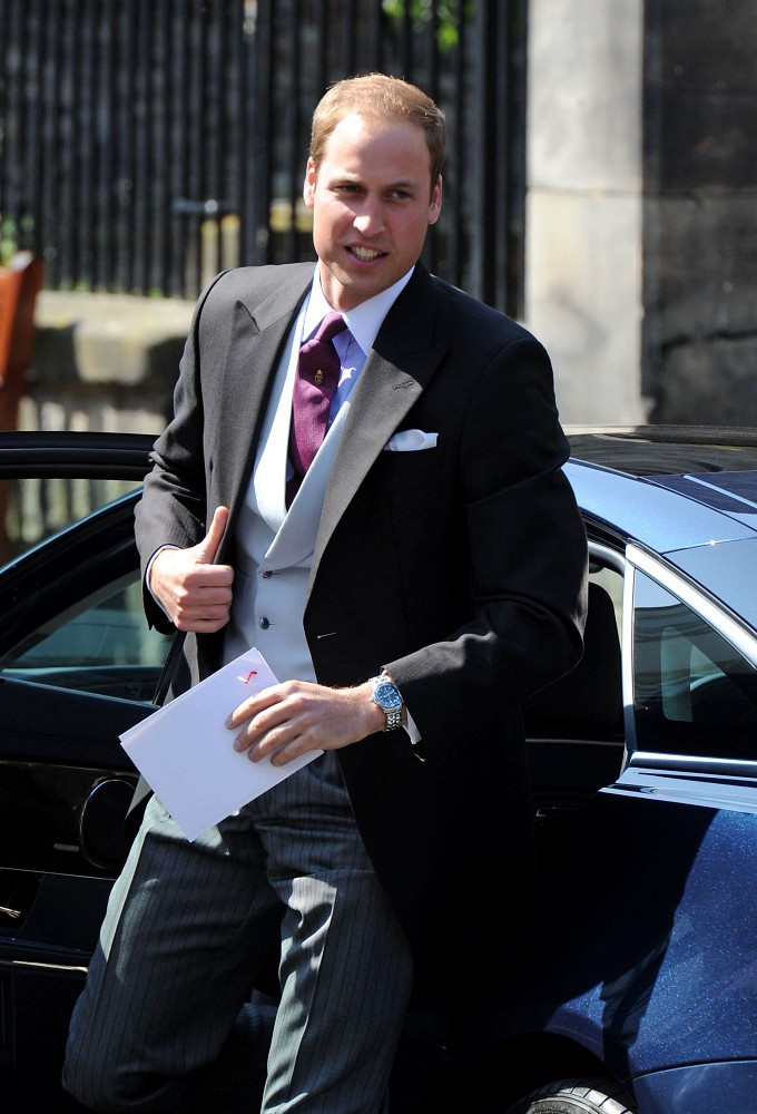 Prince William Men's Suit - Prince William Clothes Looks ...
