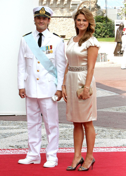 Princess Madeleine Evening Pumps