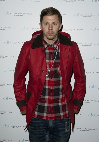 Professor Green Fitted Jacket