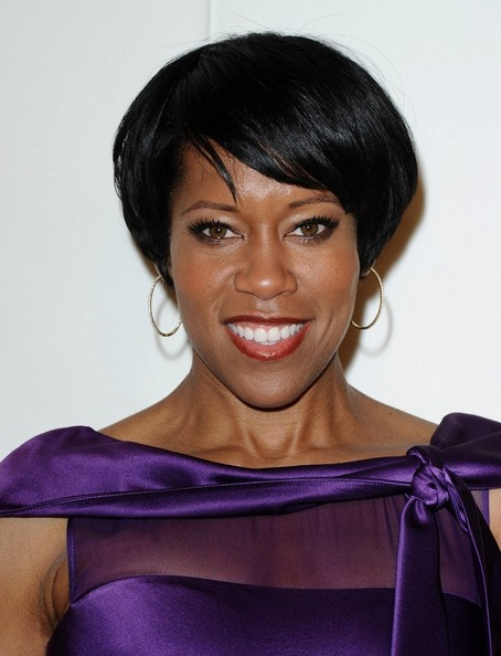 More Pics of Regina King Short Straight Cut (1 of 4) - Regina King Lookbook - StyleBistro