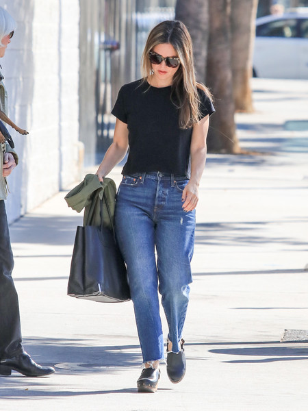 Rachel Bilson Leather Tote