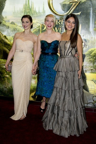 Celebs Arrive at the 'Oz' Premiere