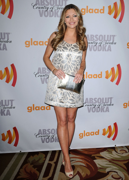 Rebecca Gayheart Mini Dress