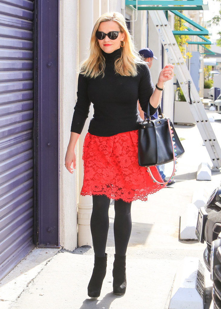 Reese Witherspoon Tights Reese Witherspoon Looks
