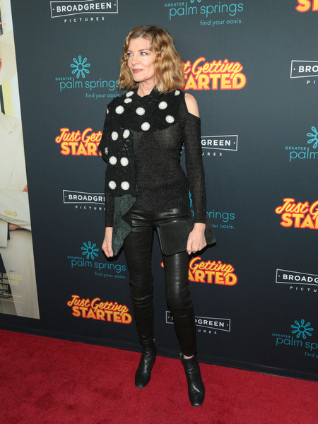 Rene Russo Leather Pants