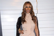 Iman Is Sexy in an Evening Gown at the Rodeo Drive Walk of Style Awards