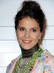 Margherita Missoni looked oh-so-pretty at the Rodeo Drive Walk of Style Award wearing her hair in a wavy top-knot.