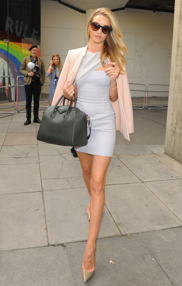 Rosie Huntington-Whiteley At Vogue Festival 2014