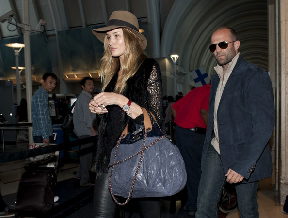 Rosie Huntington-Whiteley Oversized Satchel