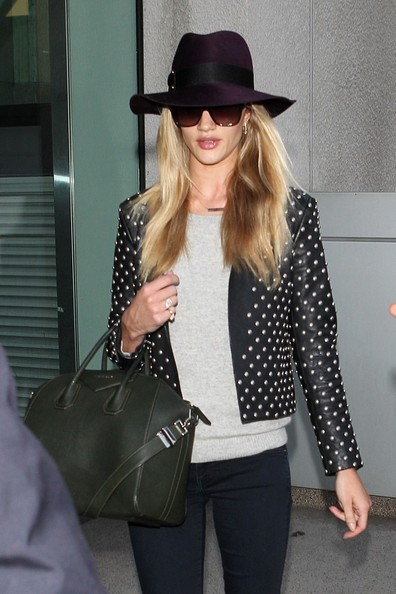 More Pics of Rosie Huntington-Whiteley Ankle Boots (1 of 4) - Boots Lookbook - StyleBistro []