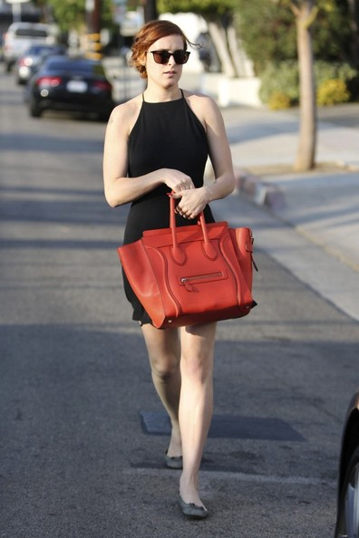 More Pics of Rumer Willis Leather Tote (1 of 11) - Rumer Willis Lookbook - StyleBistro