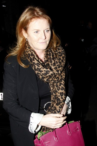 Sarah Ferguson Patterned Scarf