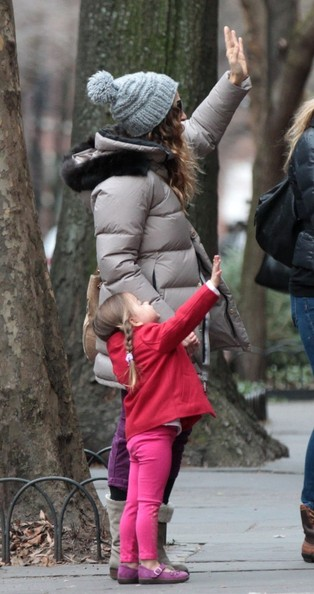 Sarah Jessica Parker Out With the Kids