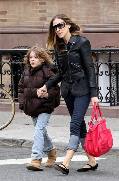 Sarah Jessica Parker Leather Tote
