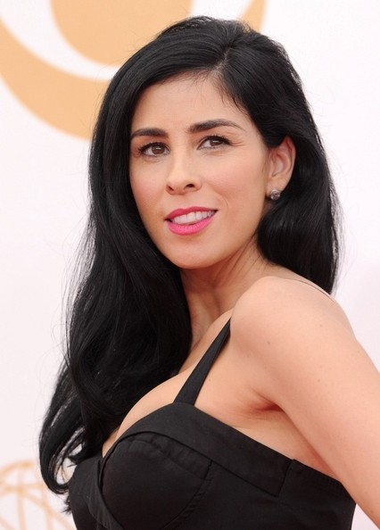 Sarah Silverman Long Side Part
