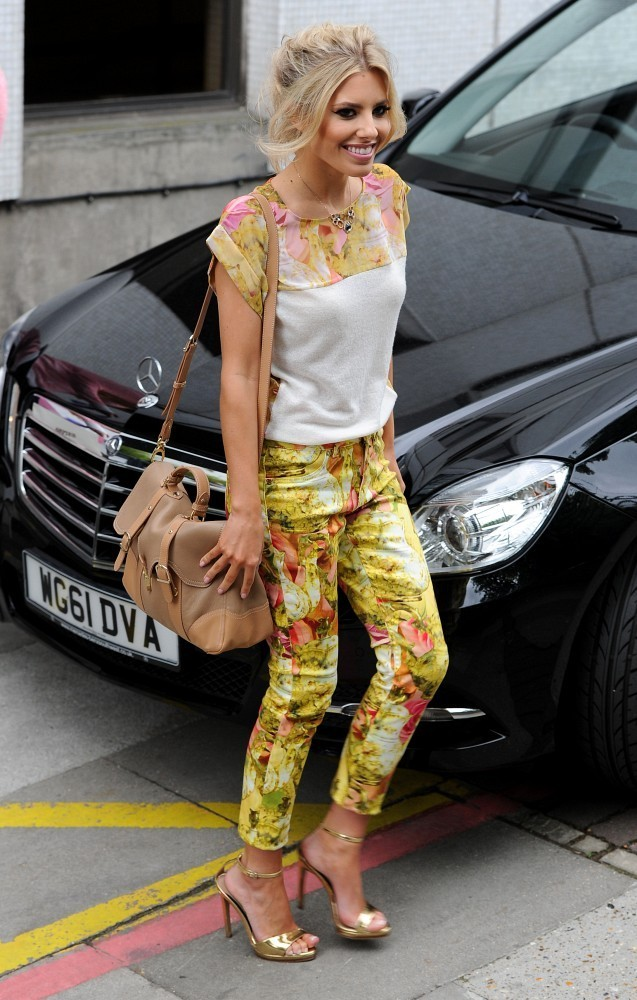 The Saturdays Leave the ITV Studios