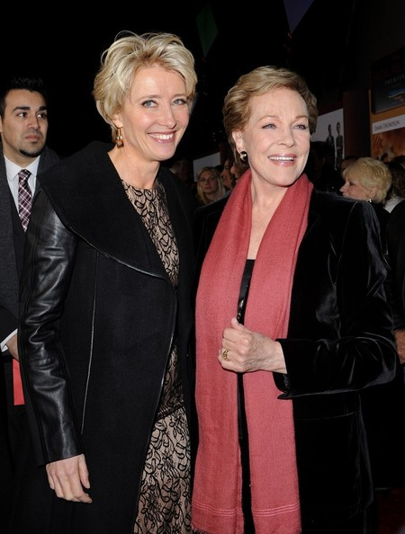 More Pics of Julie Andrews Short Side Part (5 of 27) - Short Hairstyles Lookbook - StyleBistro []