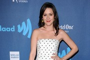 Shannon Woodward Peplum Top
