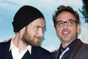 Jude Law and Robert Downey Jr. Photo