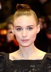Rooney Mara is known for her classic, modern style like this slicked back hair knot she rocked at the 'Side Effect' premiere.