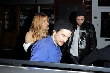 Sienna Miller Tom Sturridge Sienna Miller Throws Tom Sturridge a Party