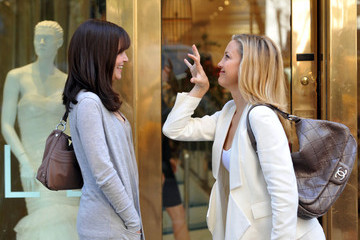 "Kate Hudson Ginnifer Goodwin ""Something Borrowed"" on Park Ave"