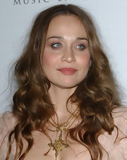 Fiona Apple wore long messy curls to the Sony BMG Grammy Party.
