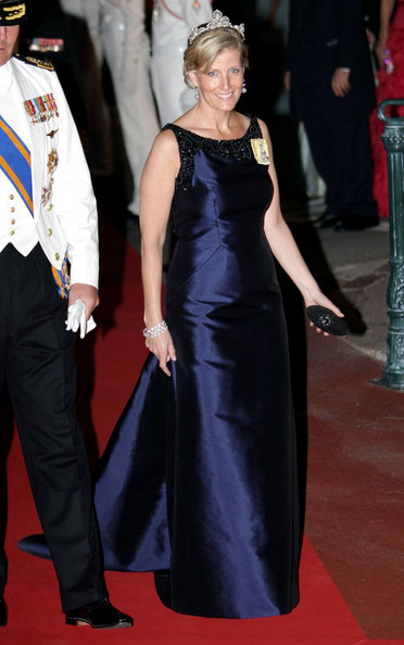 Sophie Countess Of Wessex Evening Dress Sophie Countess