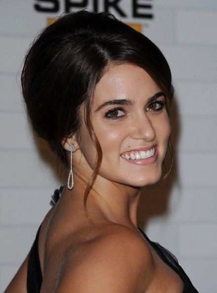 More Pics of Nikki Reed French Twist (1 of 8) - French Twist Lookbook - StyleBistro