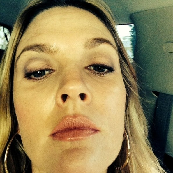 Drew Barrymore Gets Up Close And Personal