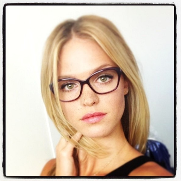 Erin Heatherton Shows Us Just How Sexy Glasses Can Be