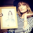 Nicole Richie Reveals Her Baby Pic