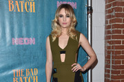 Suki Waterhouse Cutout Dress