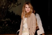 Suki Waterhouse Trenchcoat