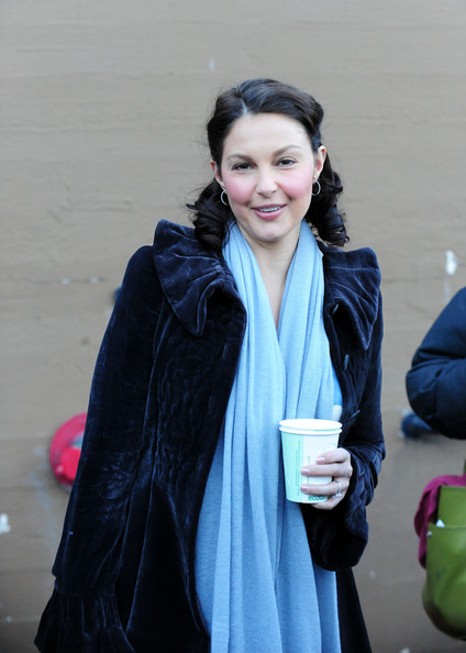 More Pics of Ashley Judd Sterling Hoops (1 of 4) - Ashley Judd Lookbook - StyleBistro