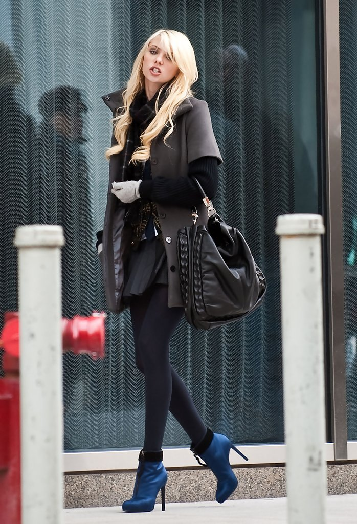 More Pics of Taylor Momsen Ankle boots (1 of 8) - Ankle ...