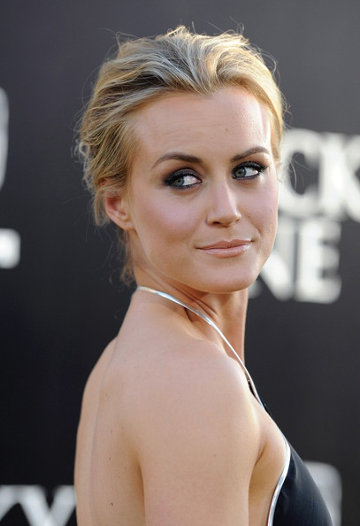 Taylor Schilling Messy Updo []