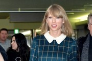 Taylor Swift Leather Bowler Bag